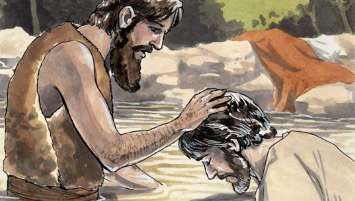 God With Us Through Baptism