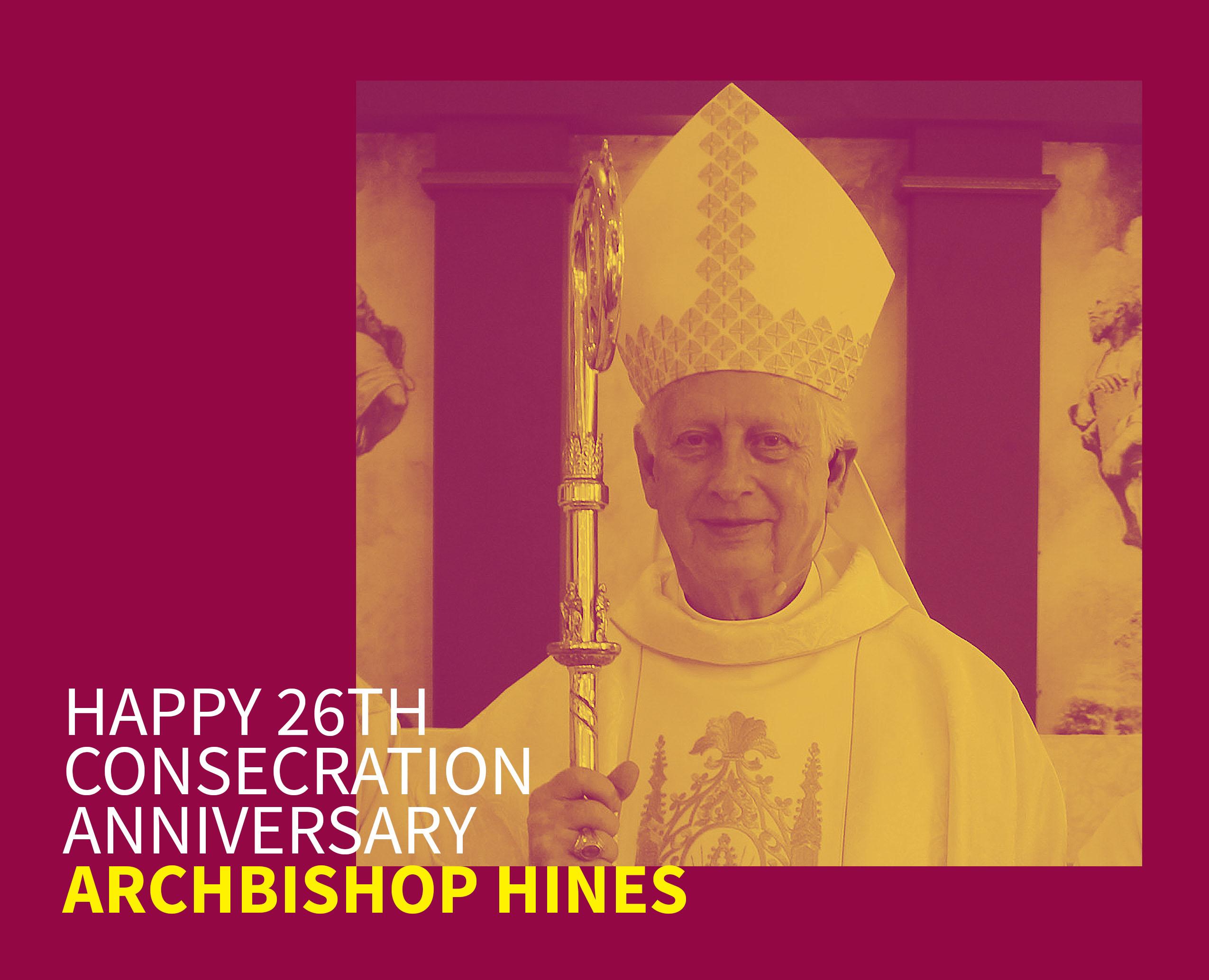 Happy 26th Consecration Anniversary