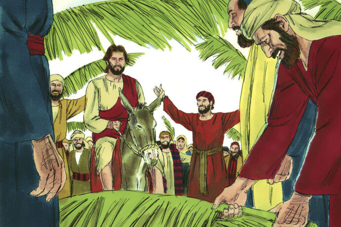 Hosanna! Blessed Is He Who Comes In The Name Of The Lord